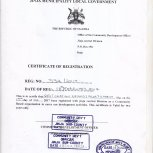 Offical Documents of Restoration of God's Glory Church Children's Ministry