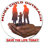 Logo Muga Child Outreach White