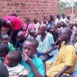 Thanksgiving at Samaritan Foundation Orphanage ○ Church of Monticello