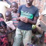Mukama Francis & Deb from USA