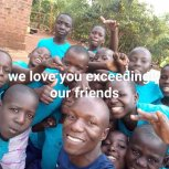 We love you exceedingly our friends