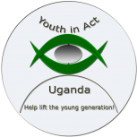 Logo Youth in Act-Uganda Grey small