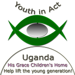 Waiswa John Billy-Youth in Act-Uganda His Grace Children's Home Clr Bkg