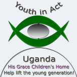 Waiswa John Billy-Youth in Act-Uganda His Grace Children's Home Grey Bkg