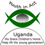Waiswa John Billy-Youth in Act-Uganda His Grace Children's Home White Bkg