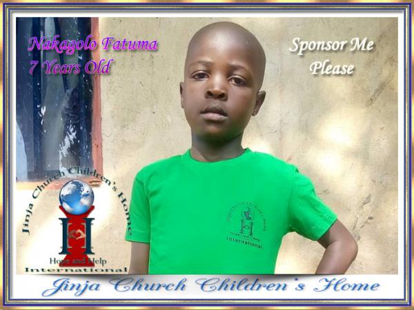 Nakagolo Fatuma 7 Years Old