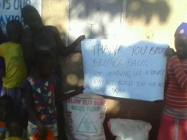 Thanksgiving at Mafubira Youth Development Association
