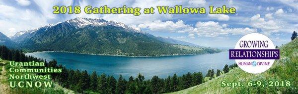 GATHERING AT WALLOWA LAKE