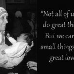 Mother Teresa Thought Gems