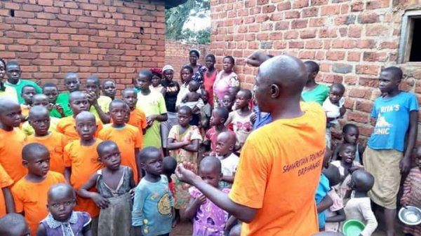 Mr. Kiwana John Assistant Director at Samaritan Foundation Orphanage
