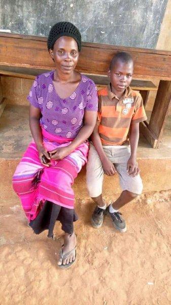 Babirye a hard-working staff member at Safo