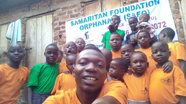 Mugerwa Isaac Shamiru CEO Samaritan Foundation Orphanage