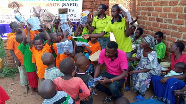 ​Safo and the supporting good citizens of the world Won't Leave you as orphans