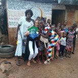 Volunteers at Save The Young Girls Foundation Sierra Leone