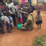 Gianluca Saturno visiting The Butiiki Children's Ministry Jinja Uganda