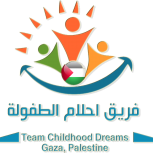 Team Childhood Dreams Gaza Palestine Logo(Clear)