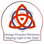 Logo Strange Preacher Ministries Logo