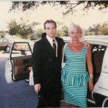 My mom Carol and me