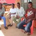 Staff at Butiiki Children's Ministry