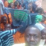 Children received new clothing