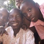 Kirunda Sula with the children