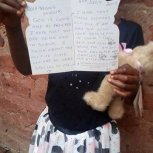 Favour at Samaritan Foundation Orphanage in Jinja Uganda