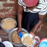 Mrs.Kawudha ● dinner is served