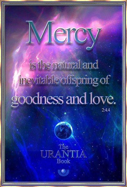 Mercy Goodness Love