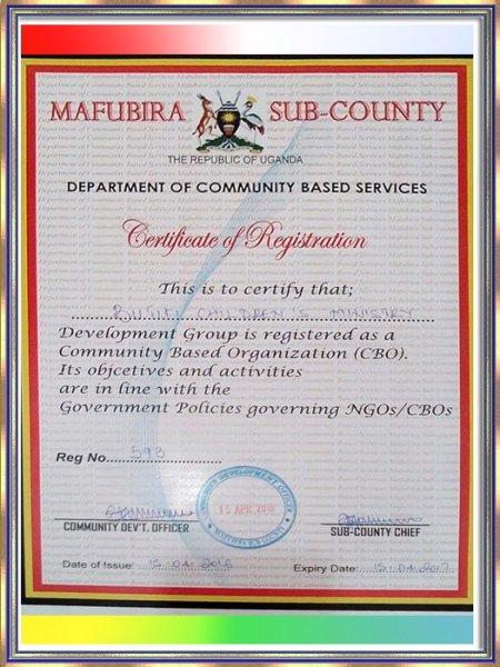 Butiiki Children's Ministry NGO/CBS Document