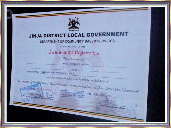 Credentials Butiiki Children's Ministry