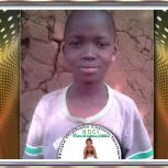 Nfaki Samuel sponsored by sister Stefanovic from Austraria