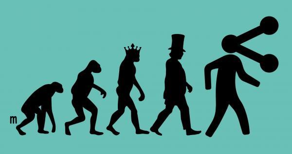 Is it utopian to believe we're on the verge of an evolution beyond capitalism? Illustration by Joe Magee